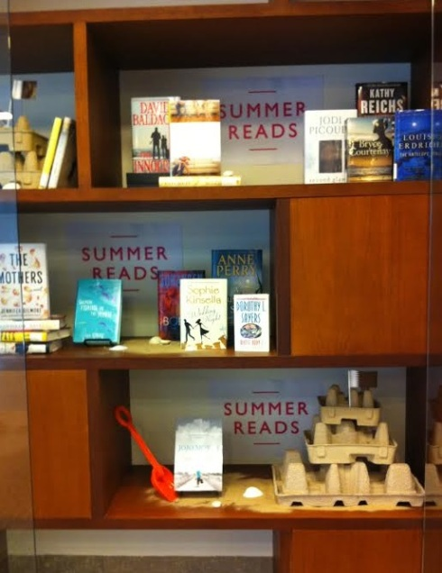 Beat the heat – curl up with a good book!